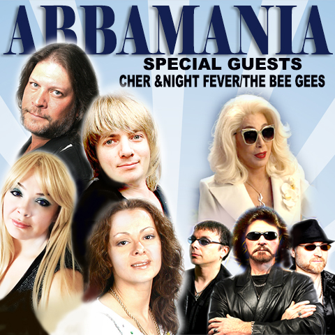 AbbaMania with Night Fever and special guest tribute to Cher