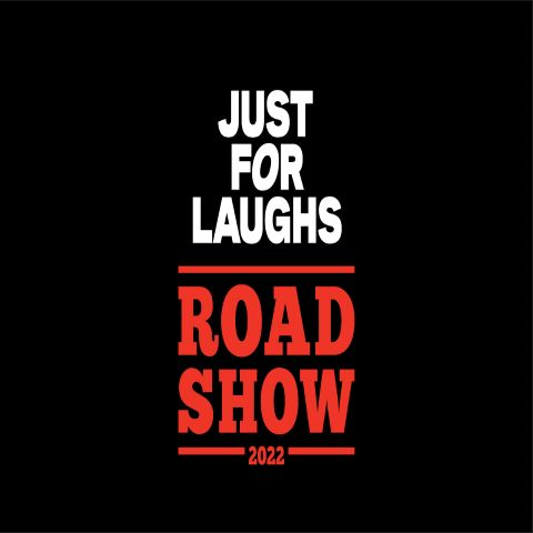 New Just for Laughs Road Show logo