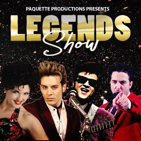 Pete Paquette, Connie Francis, Roy Orbison, Jerry Lee Lewis