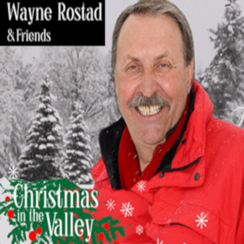 wayne Rostad in front of a winter scene