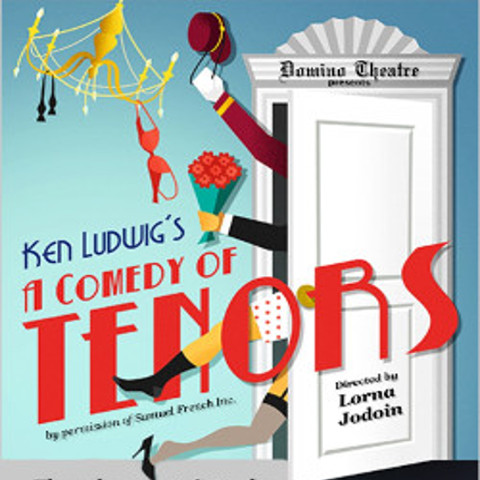 A comedy of tenors poster