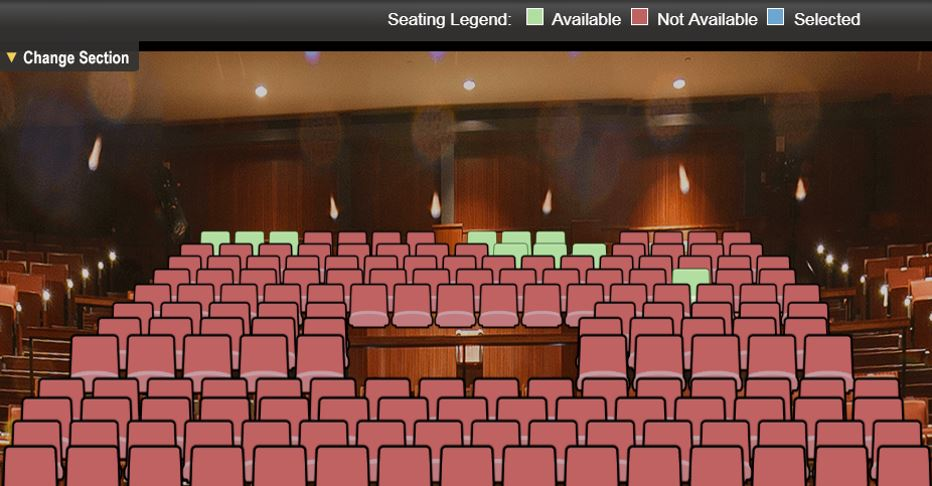 Select Seats - 360 View