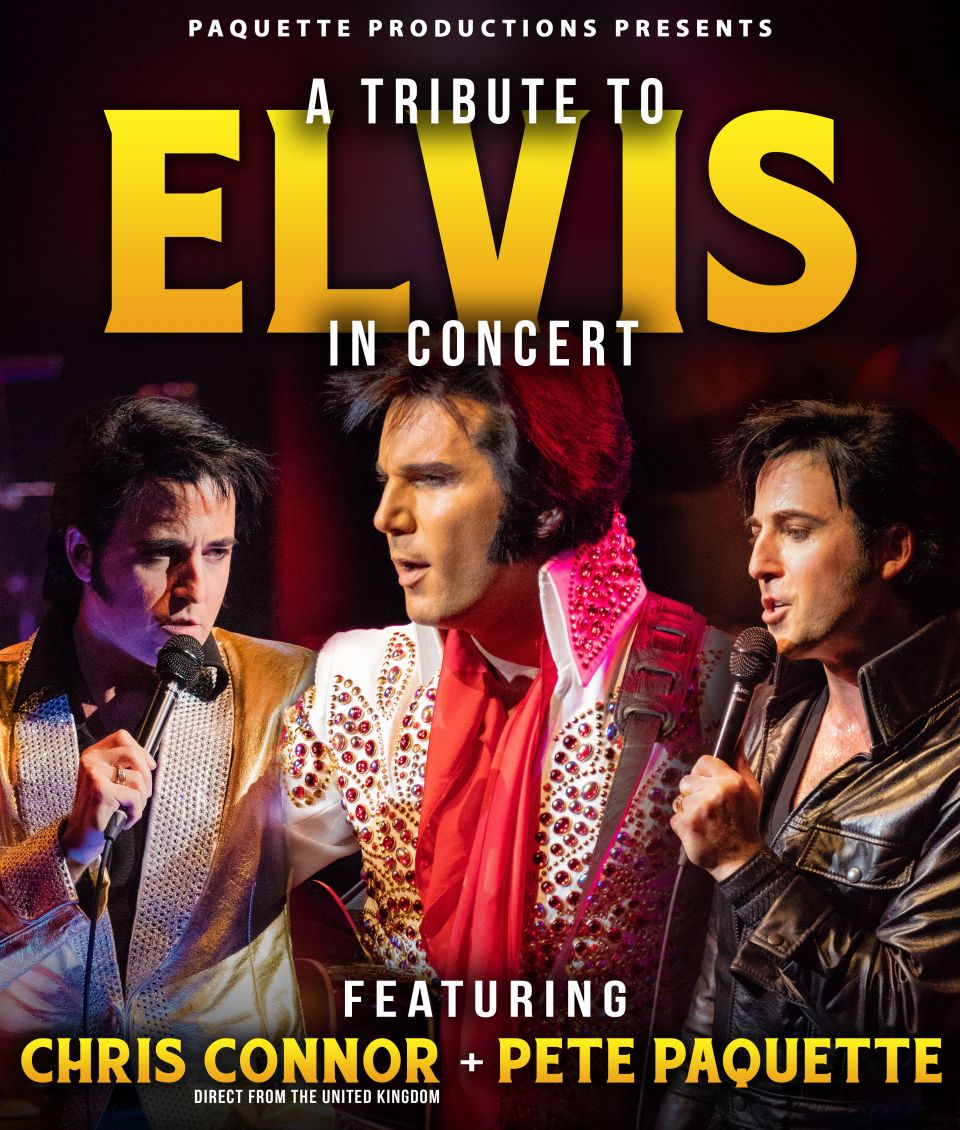 Chris Connor and Pete Paquette as Elvis