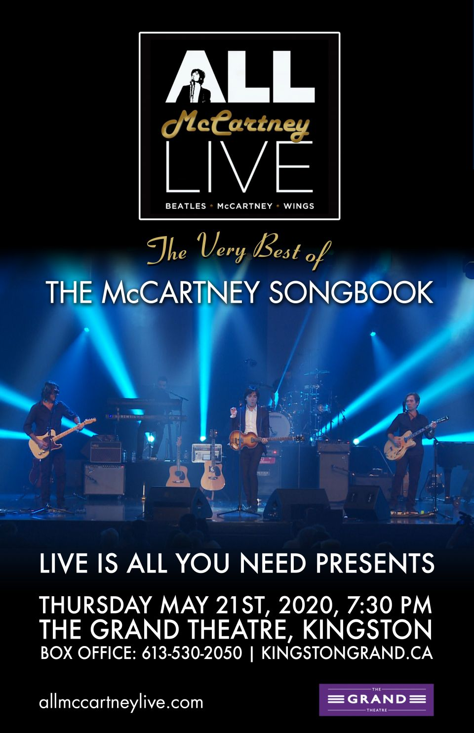All McCartney Live poster