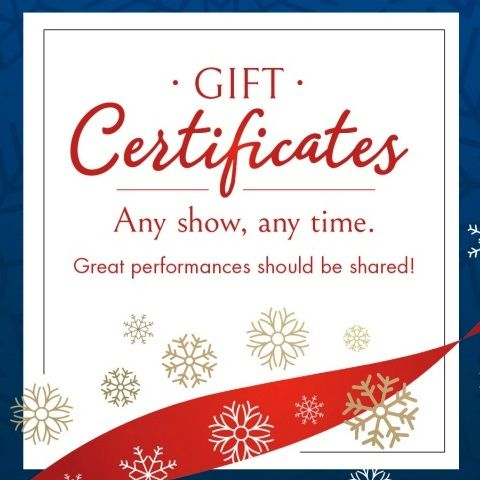 Grand OnStage Gift Certificates