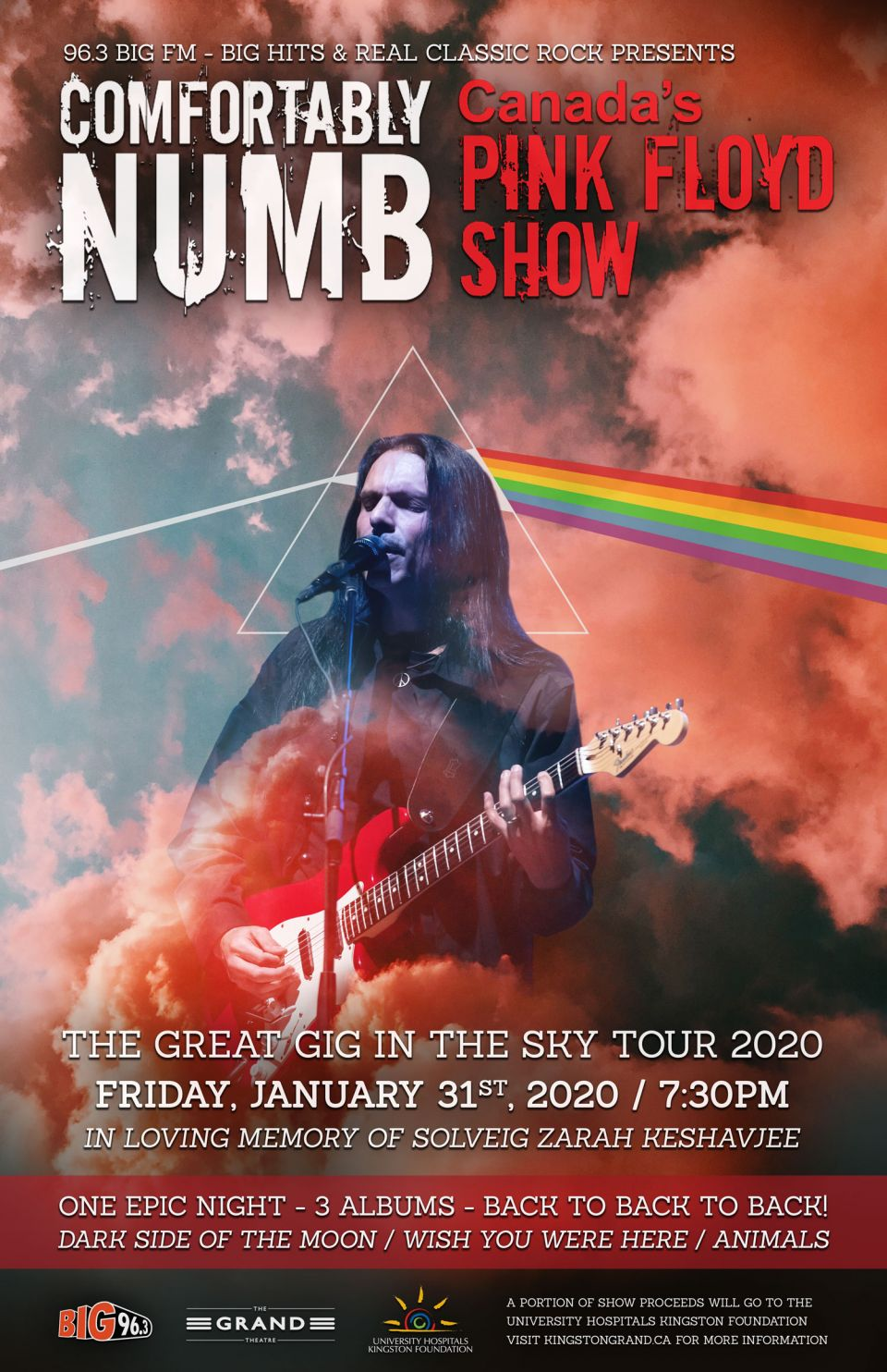 Pink Concert Tour 2020 Comfortably Numb   The Great Gig In The Sky Tour | Kingston Grand
