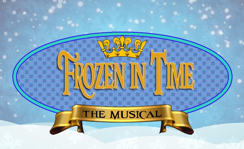 Frozen in Time the Musical logo