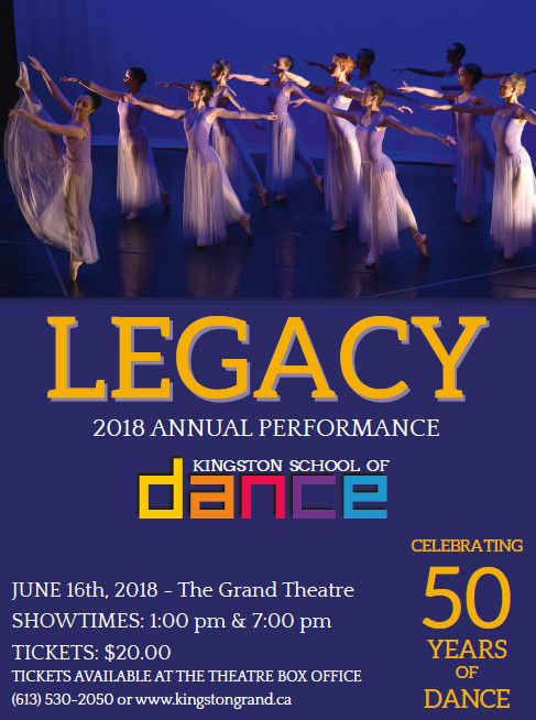 Kingston School of Dance - Legacy
