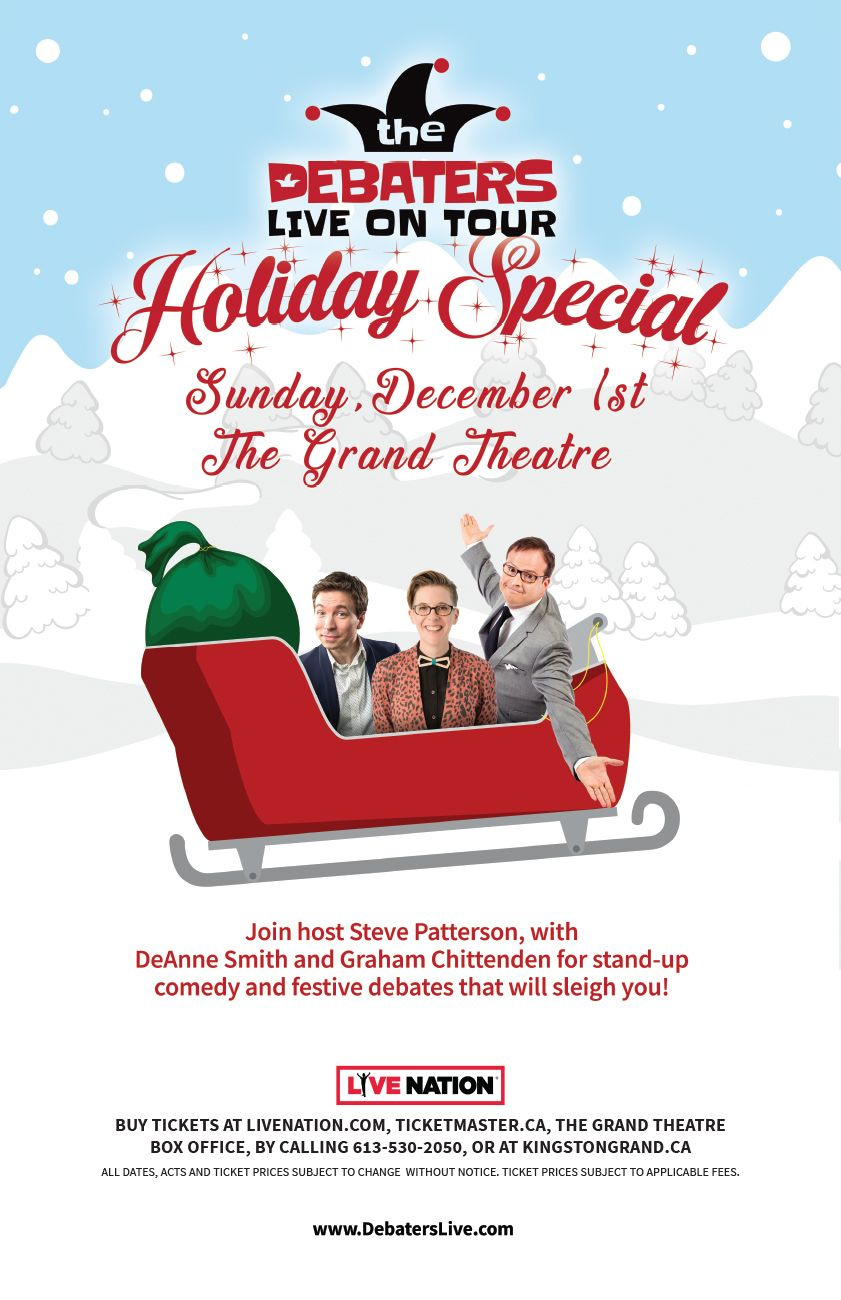 The Debaters Live On Tour Holiday Special