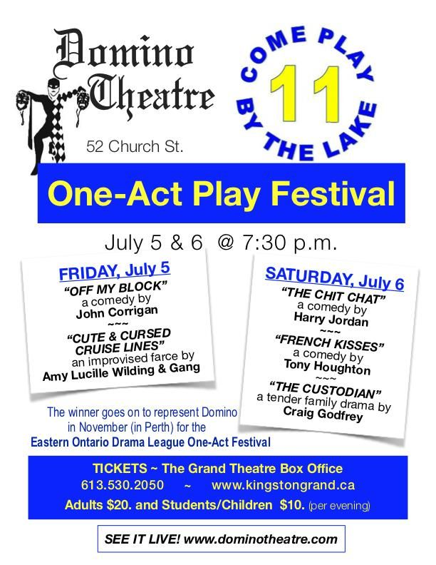 One Act Play Poster