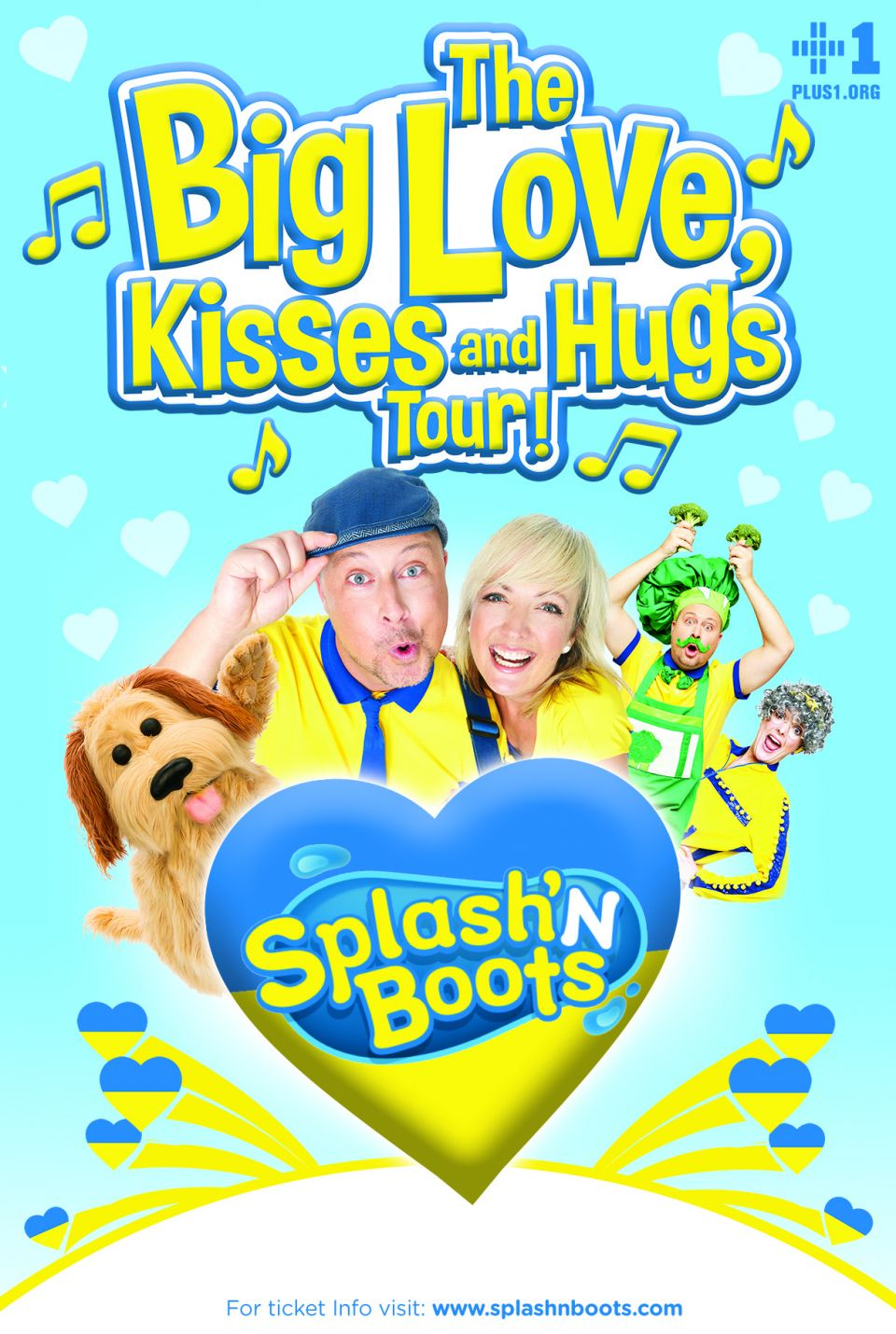 The Big Love, Kisses and Hugs Tour!