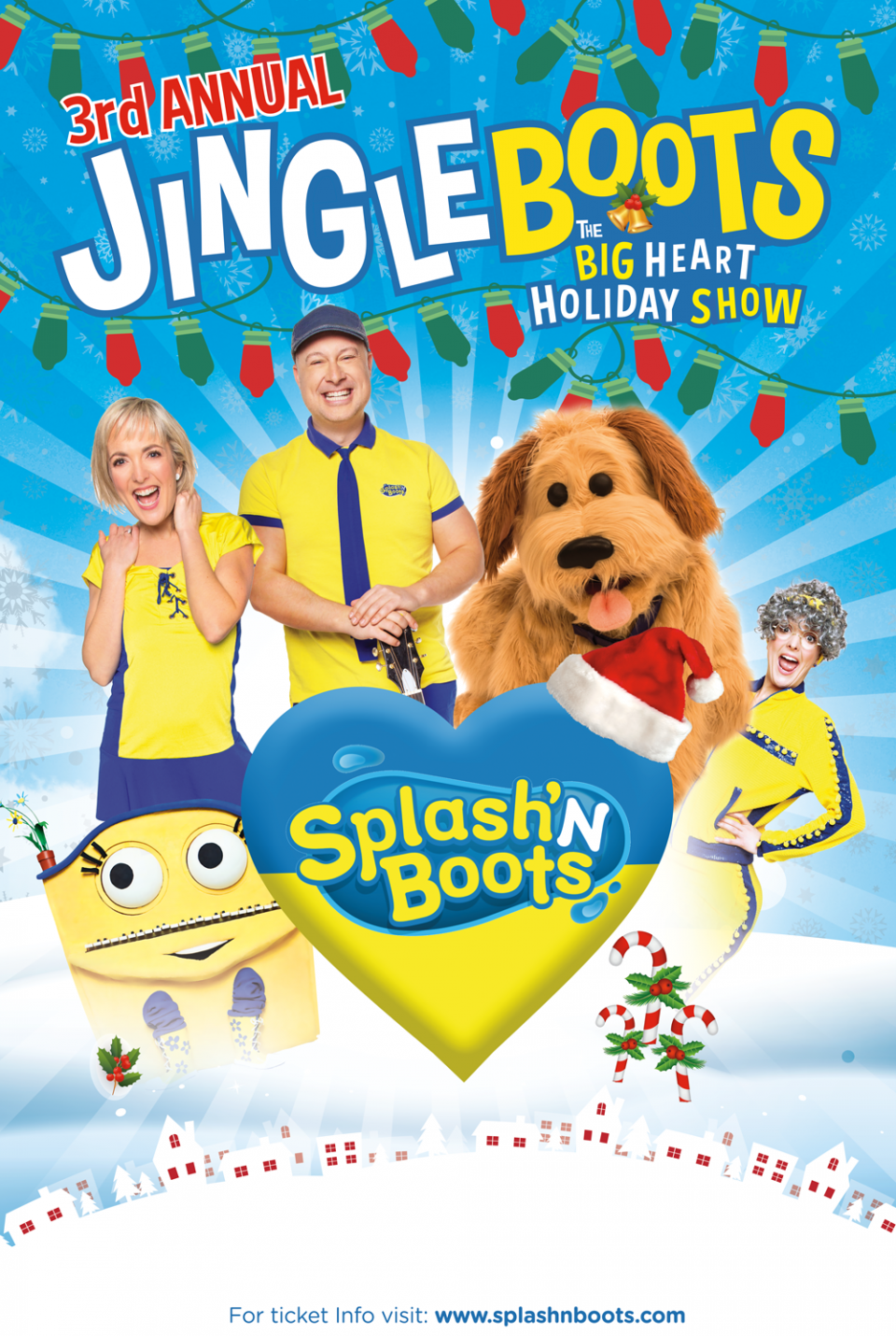 Poster of Jingle Boots - The Big Heart Holiday Show!