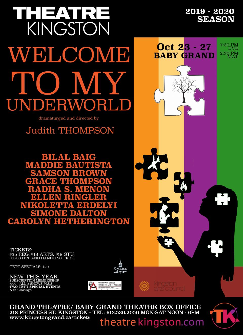 poster of Welcome to My Underworld