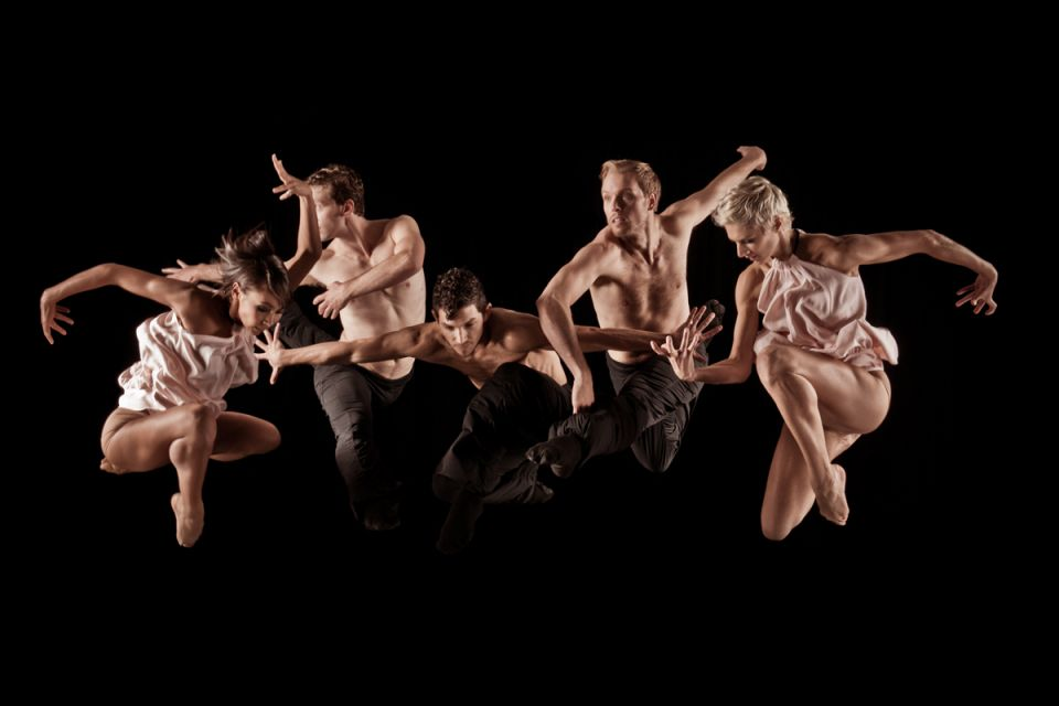 The Ballet Jazz de Montreal Dancers